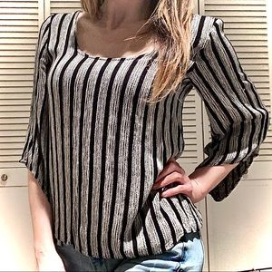 Anthropology • striped long sleeve